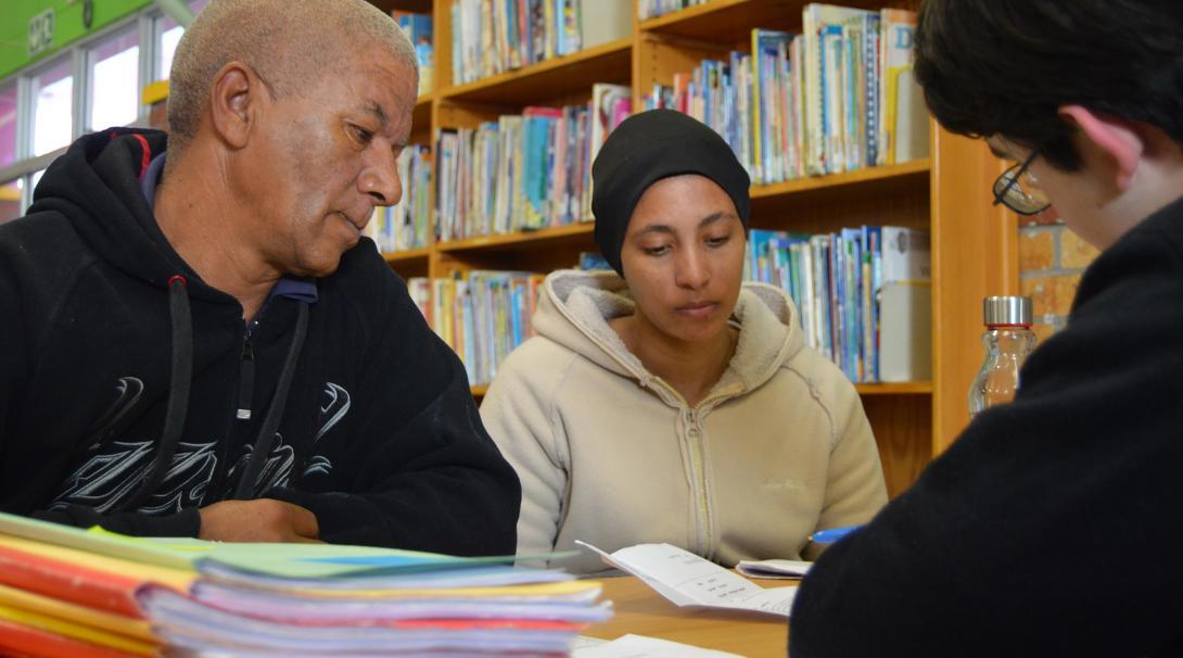 An intern helps a family through free legal aid